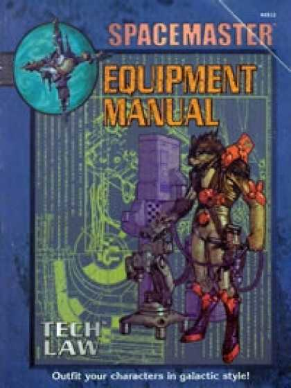 Role Playing Games - Spacemaster Equipment Manual PDF
