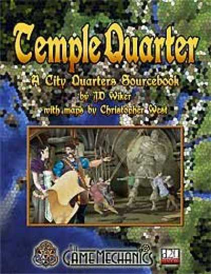 Role Playing Games - Temple Quarter: A City Quarters Sourcebook