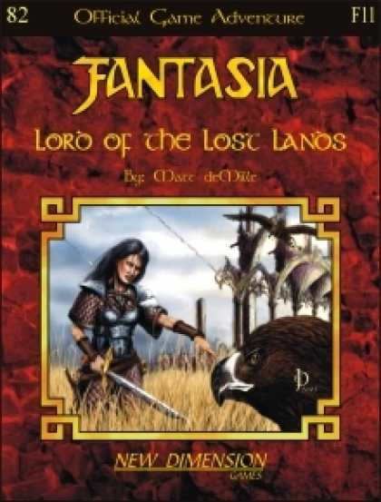 Role Playing Games - Fantasia: Lord Of The Lost Lands--Adventure F11