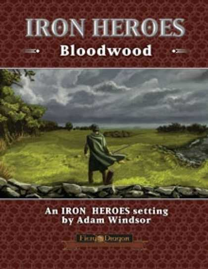Role Playing Games - Iron Heroes Bloodwood Setting