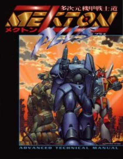 Role Playing Games - Mekton Zeta Plus