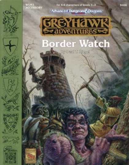 Role Playing Games - WGM1: Border Watch