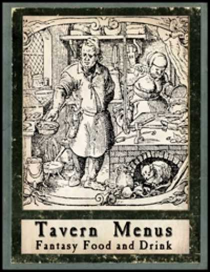 Role Playing Games - Tavern Menus
