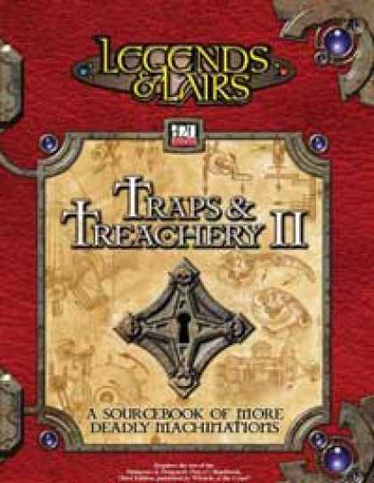 Role Playing Games - Traps & Treachery II