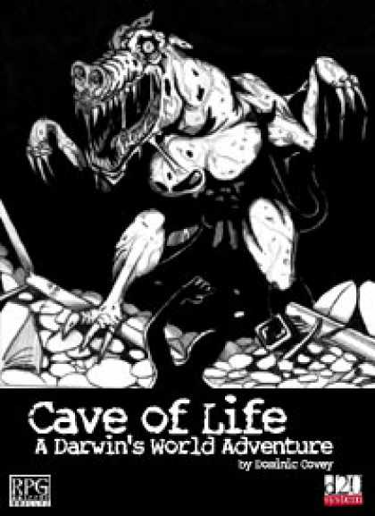 Role Playing Games - Darwin's World: Cave of Life
