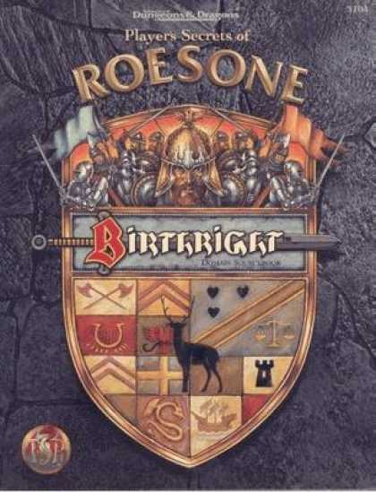 Role Playing Games - Domain Sourcebook 1: Roesone