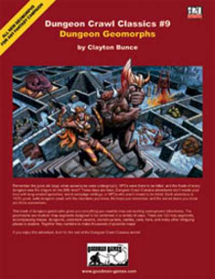 Role Playing Games - Dungeon Crawl Classics #9: Dungeon Geomorphs