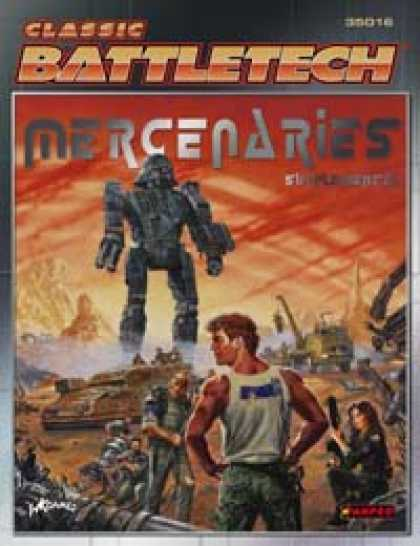 Role Playing Games - Mercenaries Supplemental
