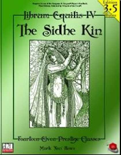 Role Playing Games - Librum Equitis - Volume 4: Sidhe Kin