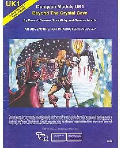 Role Playing Games - UK1 - Beyond the Crystal Cave