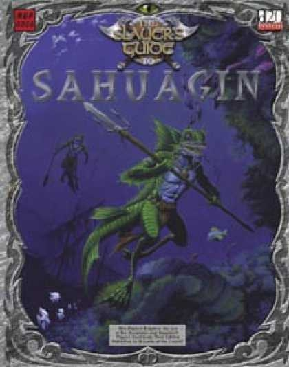 Role Playing Games - Slayer's Guide to Sahuagin