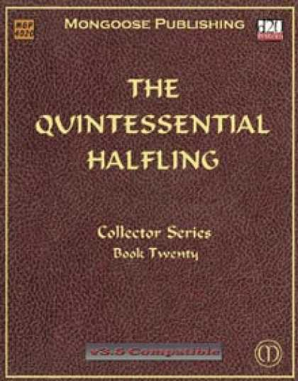 Role Playing Games - The Quintessential Halfling