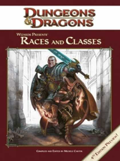 Role Playing Games - Wizards Presents: Races and Classes