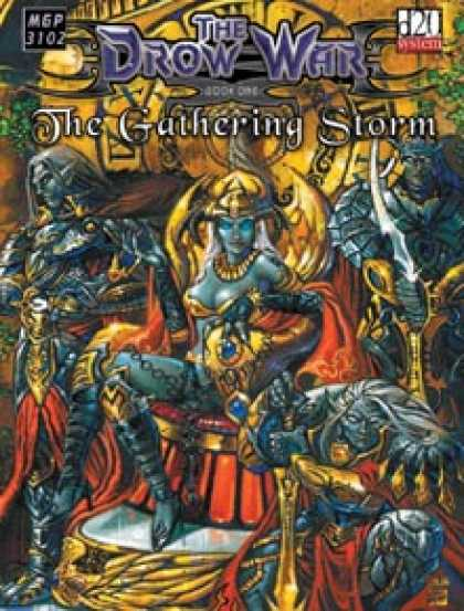 Role Playing Games - The Drow War: Book 1 - The Gathering Storm