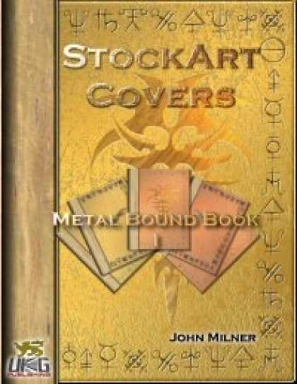 Role Playing Games - StockArt  Covers: Metal Bound Book I