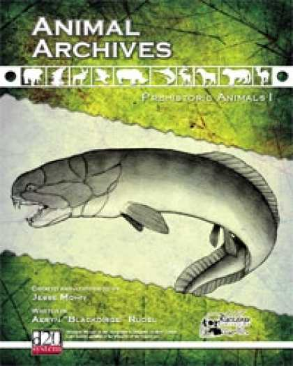 Role Playing Games - Animal Archives: Prehistoric Animals I