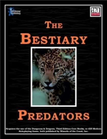 Role Playing Games - The Bestiary: Predators