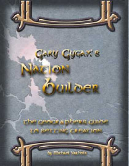Role Playing Games - Gary Gygax's Nation Builder