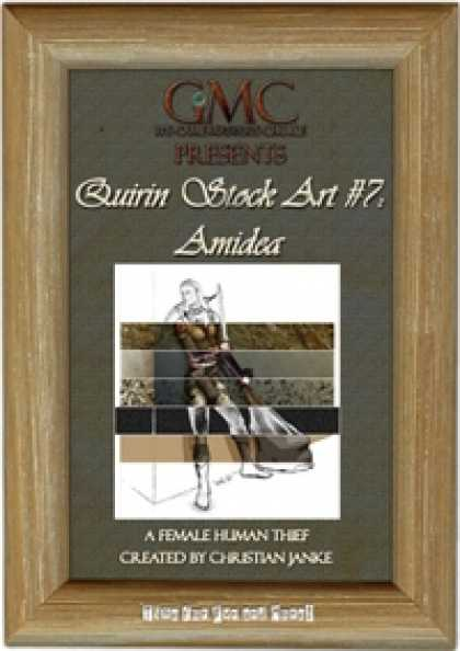 Role Playing Games - Quirin Stock Art #7: Amidea