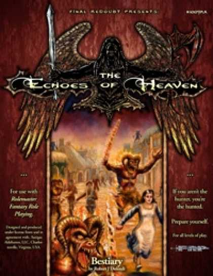 Role Playing Games - The Echoes of Heaven Bestiary/The Tainted Tears (Rolemaster Version)