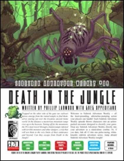 Role Playing Games - Sidetrek Adventure Weekly #09: Death in the Jungle
