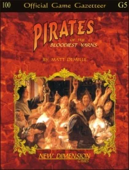 Role Playing Games - Pirates: The Bloodiest Yarns--Supplement G5
