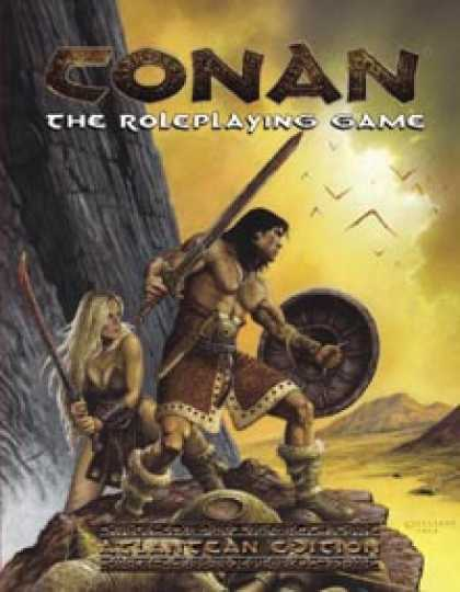 Role Playing Games - Conan the Roleplaying Game: Atlantean Edition