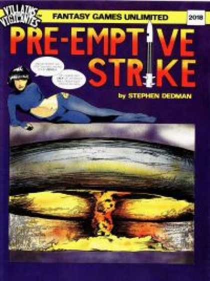 Role Playing Games - Pre-Emptive Strike