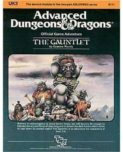 Role Playing Games - UK3 - The Gauntlet