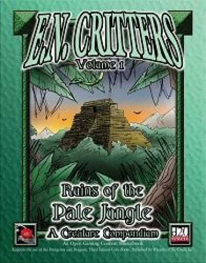 Role Playing Games - E.N. Critters - Ruins of the Pale Jungle