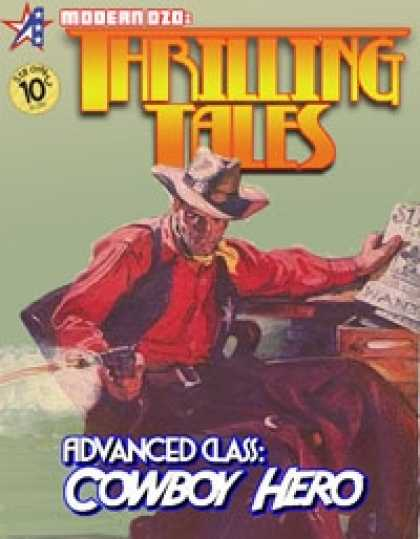 Role Playing Games - THRILLING TALES: Advanced Class-COWBOY HERO