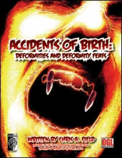 Role Playing Games - Accidents of Birth: Deformities and Deformity Feats