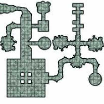 Role Playing Games - Dungeon Tiles Set 1 - Cursed Empire FRPG