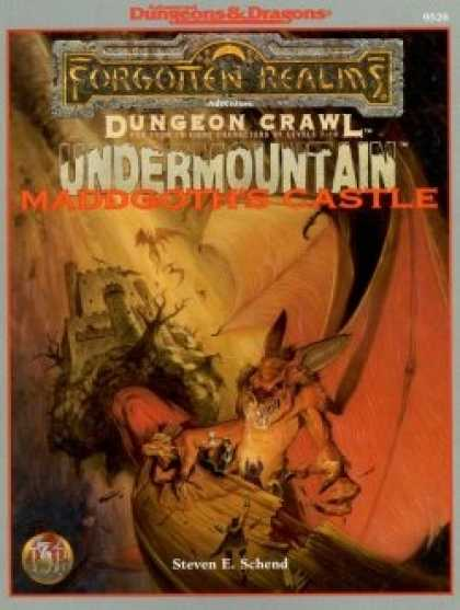 Role Playing Games - Undermountain: Maddgoth's Castle