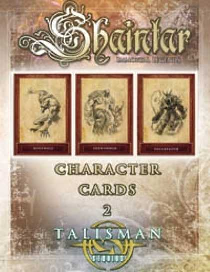 Role Playing Games - Shaintar Character Cards 2