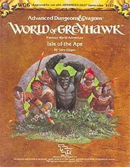 Role Playing Games - WG6 - Isle of the Ape
