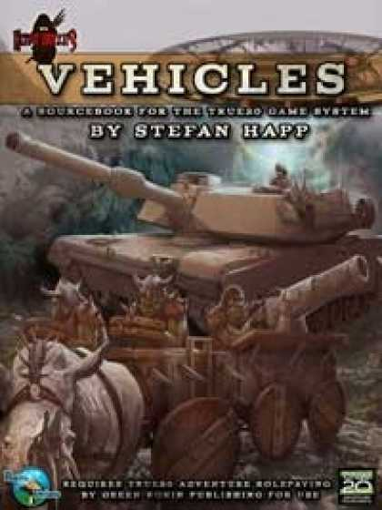Role Playing Games - Heroic Toolkits: Vehicles (Revised)