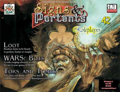 Role Playing Games - Signs & Portents Roleplayer 42