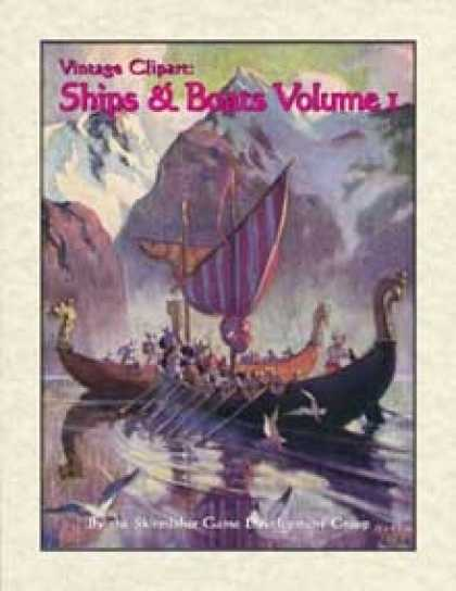 Role Playing Games - Vintage Clipart: Ships & Boats Volume 1