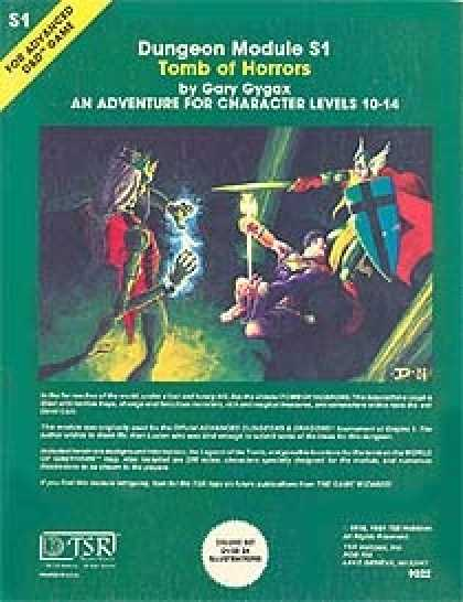 Role Playing Games - S1 - Tomb of Horrors