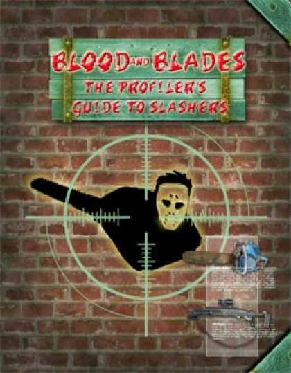 Role Playing Games - Blood and Blades: The Profiler's Guide to Slashers