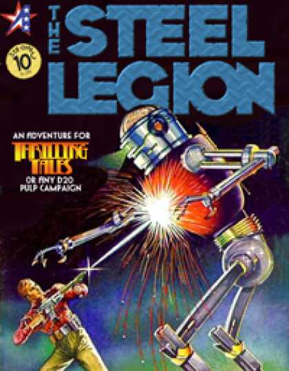 Role Playing Games - THRILLING TALES: The Steel Legion