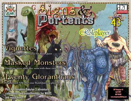 Role Playing Games - Signs & Portents Roleplayer 43