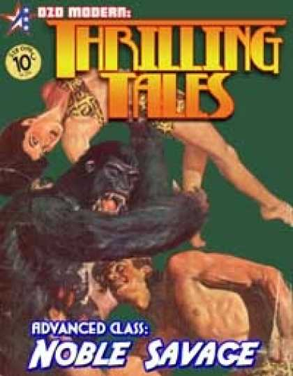 Role Playing Games - THRILLING TALES: Advanced Class-NOBLE SAVAGE