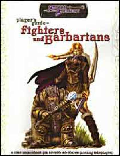 Role Playing Games - Player's Guide to Fighters and Barbarians