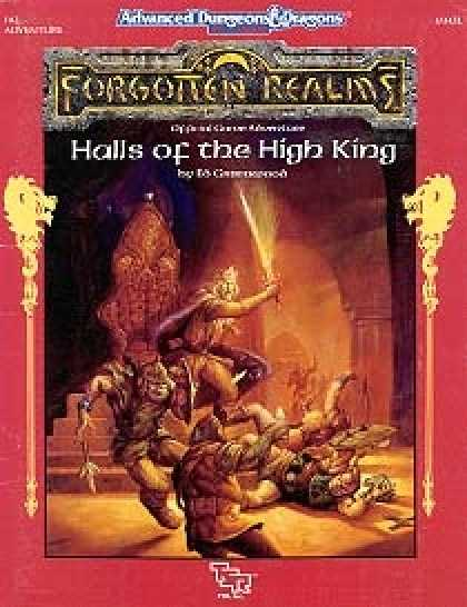 Role Playing Games - Halls of the High King