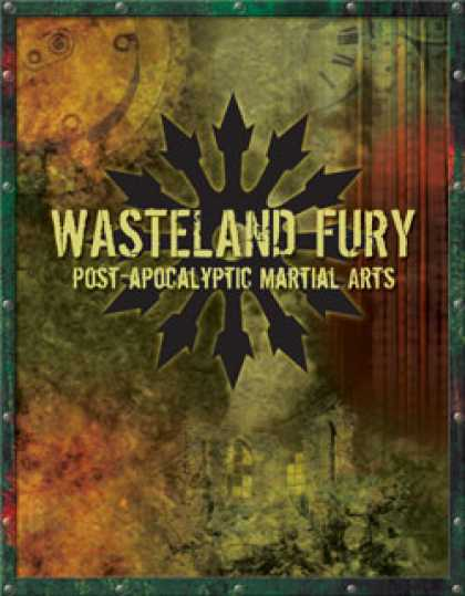 Role Playing Games - Wasteland Fury: Post Apocalyptic Martial Arts