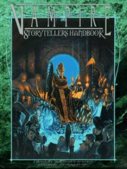 Role Playing Games - Vampire Storytellers Handbook - Revised Edition (WW2304)
