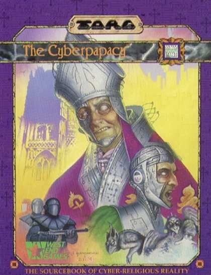 Role Playing Games - Torg: Cyberpapacy Sourcebook