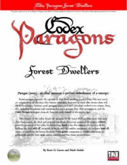 Role Playing Games - Codex Paragons: Forest Dwellers